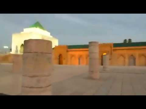 RABAT - Hassan Tower and Mohammed V Mausoleum - AT SUNSET
