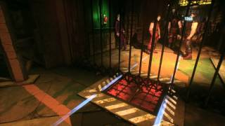 Batman: Arkham Knight - Assault on Panessa Studios: Open Stage A Gate w Voice Synthesizer (Al King)