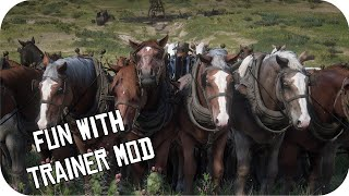 RDR2 Spawn Vehicles and More / Fun with Trainer Mod PC