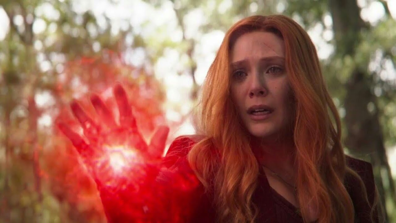 Scarlet Witch kills Vision (Vision's death) / Wakanda team vs Thanos |  Avengers Infinity War
