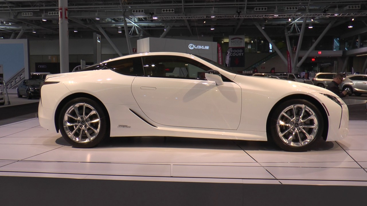 2018 Lexus Lc 500h Hybrid Is350 F Sport Rc Gs New England International Auto Show 2017