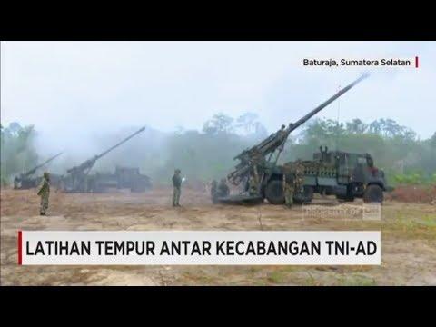 Latihan Tempur Antar Kecabangan TNI AD - Militer Indonesia