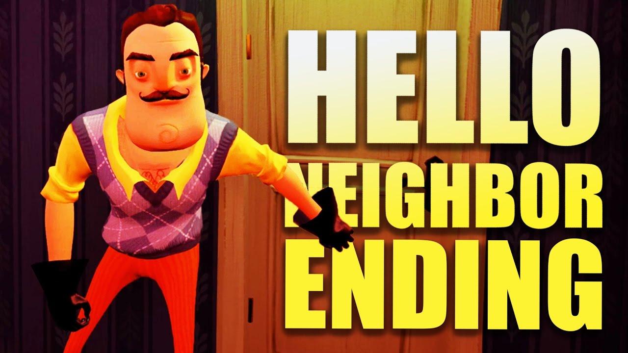 Hello Neighbor Gameplay Basement Door Ending Let S