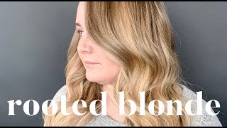 ROOTED BLONDE TUTORIAL