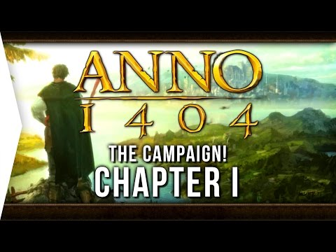 Anno 1404 ► Mission 1: A Declaration of Faith! - [Campaign Gameplay]
