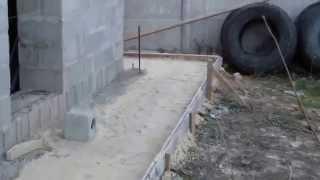 Как сделать отмостку вокруг здания.
