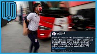 El futbolista expuso su molestia y contó los detalles a través de sus redes sociales