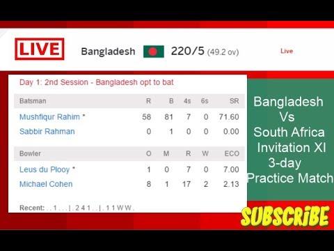 South african invitation xi vs bangladesh 3 day practice match south african invitation xi vs bangladesh 3 day practice match highlights stopboris Choice Image