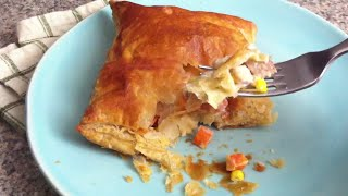 Recipes For Leftovers: Pork Pie Puff Pastry Pockets