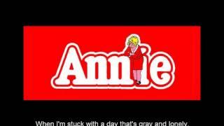 Annie - Tomorrow (Karaoke)