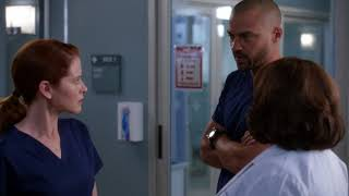April stands up to Jackson and Bailey – Grey's Anatomy Season 14 Episode 17