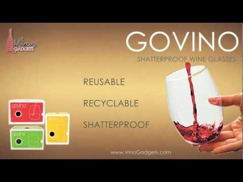 Govino Shatterproof Wine Glasses - VinoGadgets.com