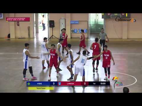LIVE Penentuan Juara 3 Bola Basket PORA XIII PIDIE VS LANGSA