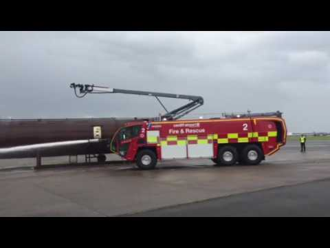 New fire engine launch