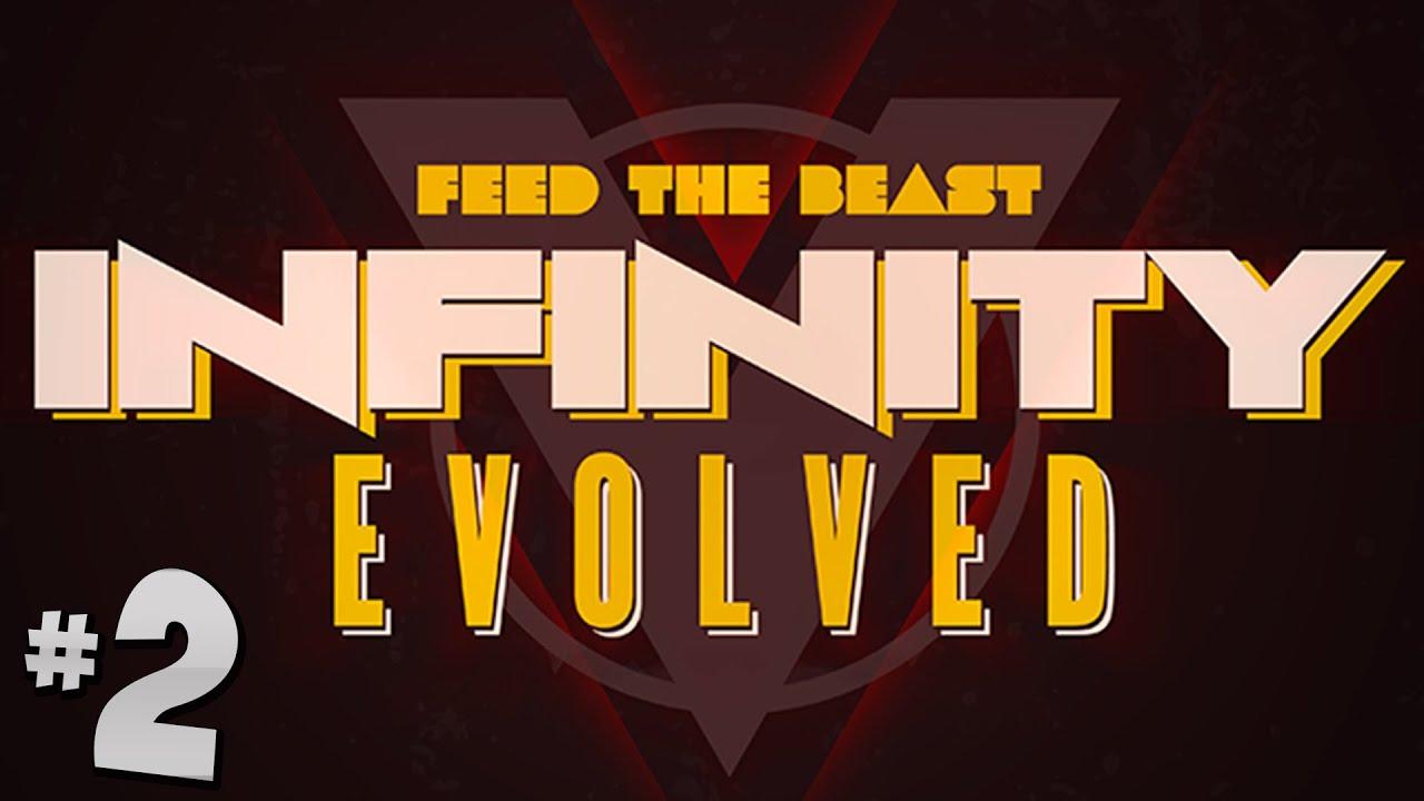 FTB Infinity Evolved - Ep 2 - Really Expensive Iron Armour! - VidVui