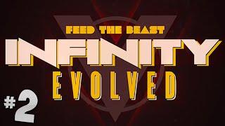 FTB Infinity Evolved - Ep.2 - Really Expensive Iron Armour!