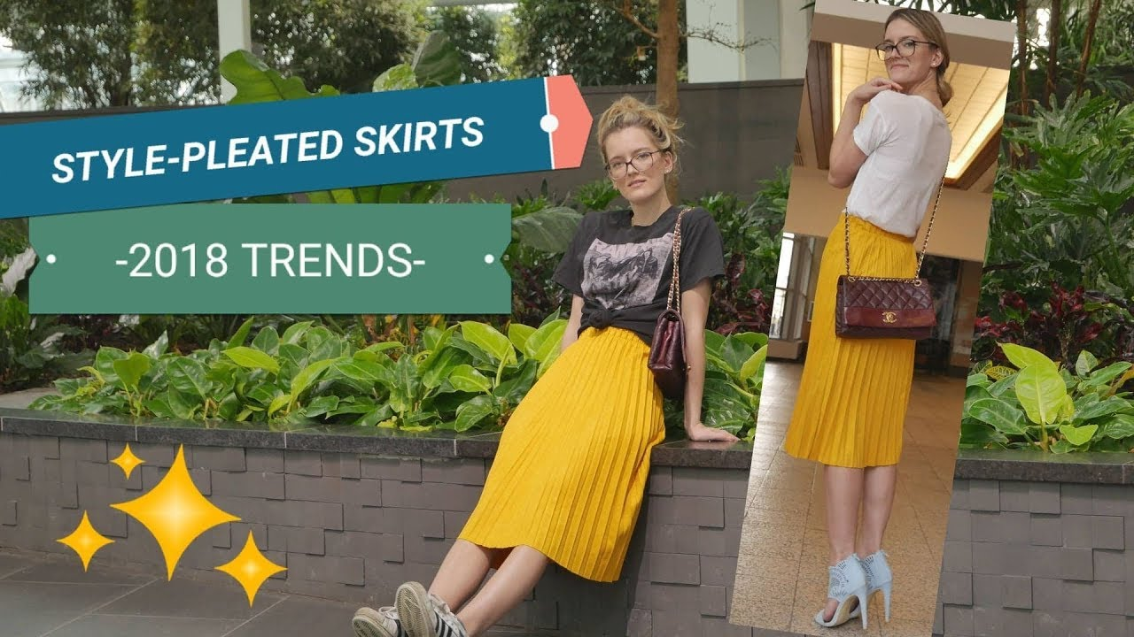 HOW TO STYLE A PLEATED SKIRT – LOOKBOOK