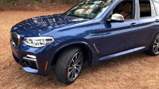 Best Detailed Walkaround 2018 BMW X3 M40i SUV