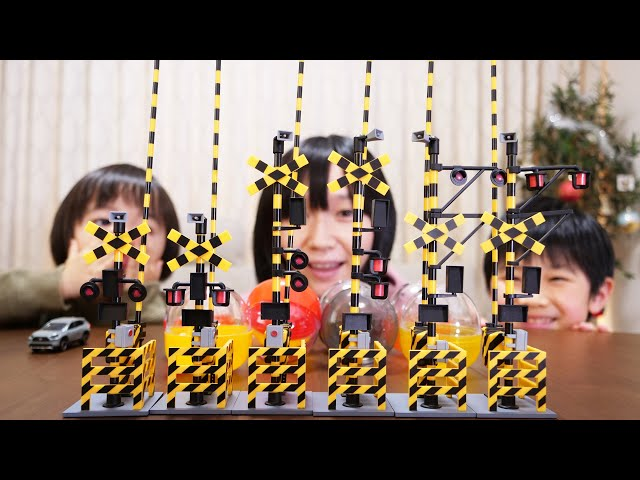 1/24 踏切コレクション 全6種/capsule toy Railroad crossing