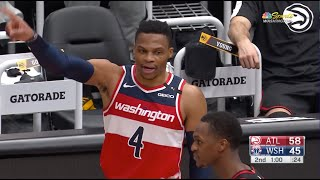 Russell Westbrook and Rajon Rondo Get A Double Technical After Exchanging Words