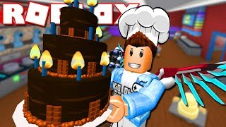 Roblox | BECOME SUPER-CAKE BAKER Bakers Valley | Kia Breaking