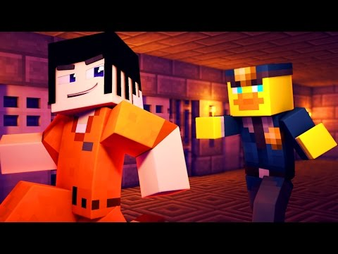 ESCAPING THE PRISON! | Minecraft Cops N Robbers