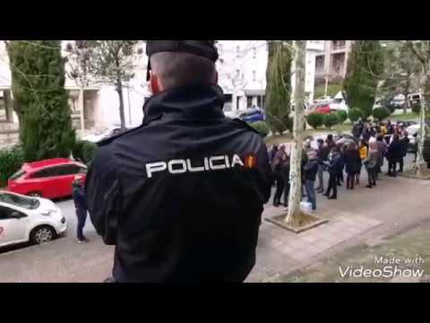 Huelga de funcionarios de justicia