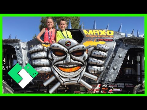 EXCLUSIVE MONSTER JAM ACCESS! 3.25.15  Day 1090