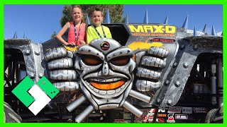 EXCLUSIVE MONSTER JAM ACCESS! (3.25.15 - Day 1090)