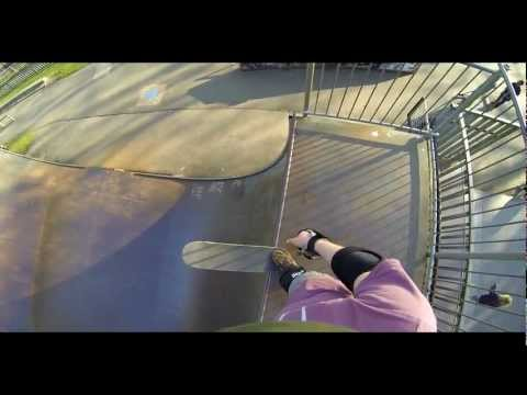 GoPro Hero 3 Black Vert Skateboarding Run