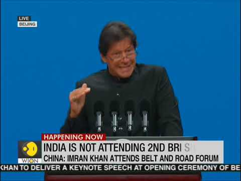Pak PM Imran Khan delivers keynote address at BRI Summit