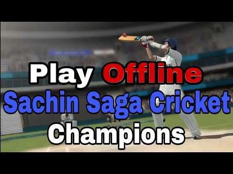 HOW TO PLAY SACHIN SAGA CRICKET GAME OFFLINE | HINDI | BY ST