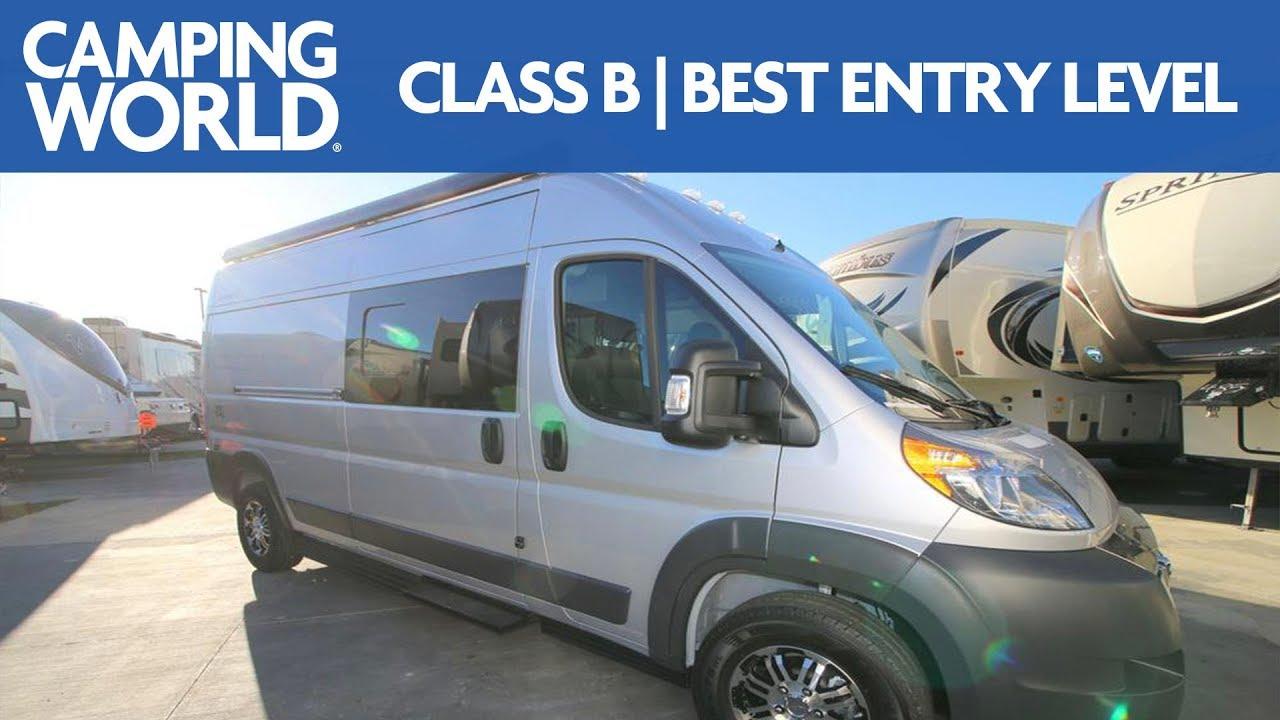 2018 Sunlight Van 2 Class B Motorhome Rv Review Camping World Youtube