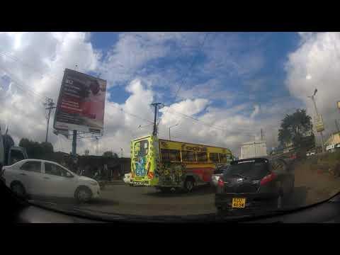 Driving through Kariokor towards Baricho Road