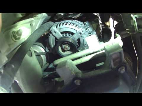 Alternator replacement 2006 Lincoln LS 3.9L 2003-2006 how to change the alternator  Thunderbird
