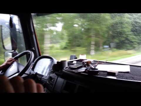 Renat Hitchhiking to Tallinn, Estonia from Riga, Latvia