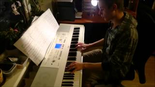 Transformers Theme - Arrival to Earth (piano cover by Toms Mucenieks) - Kyle Landry arrangement