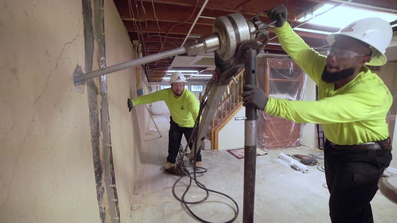 St Charles County Basement Waterproofing Foundation Repair Helitech