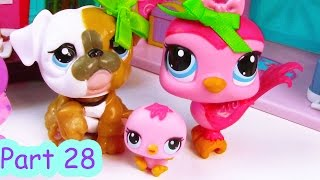 LPS Baby Shower Party - Mommies Part 28 Littlest Pet Shop Series Movie LPS Mom Babies
