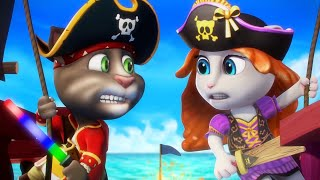 Talking Tom Shorts 22 - Power Pirates