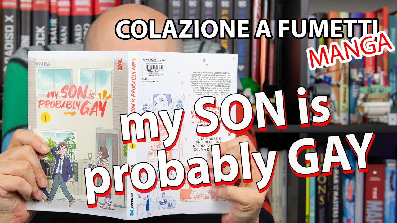 Download My son is probably gay: un manga moderno