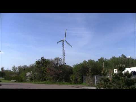 The Burlington Electric Windmill.