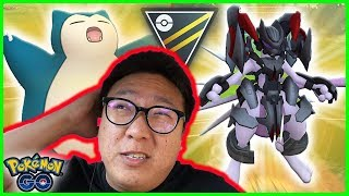 ARMORED MEWTWO AND SNORLAX COMBO  S JUST TOO S CK - POKEMON GO BATTLE ULTRA LEAGUE