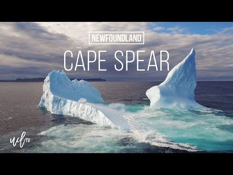 Iceberg at Cape Spear, Newfoundland and Labrador, Canada