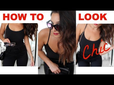 How to LOOK CHIC | Look Stylish for LESS | Bougie On A Budget!