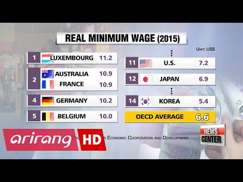 Minimum wage set at 6,470 won for 2017