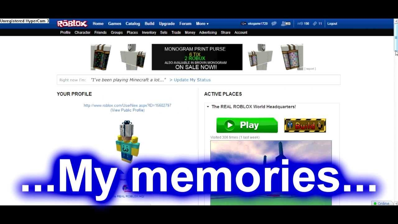 Roblox The New Profile Page Youtube
