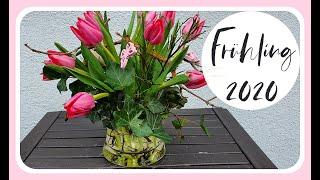 FRÜHLINGSDEKO selber machen mit Tulpen I 2020 Tulpen Tipps I DIY I KatisweltTV