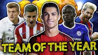 Team Of The Year 2016 XI!