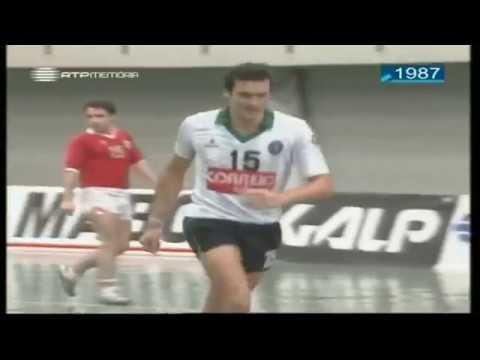 Andebol :: 07J :: Benfica - 22 x Sporting - 21 de 1986/1987